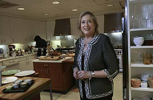 Bon Appetit's editor in chief Barbara Fairchild visits the magazine's test kitchen in Los Angeles.