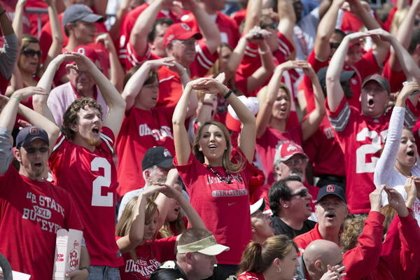 "The only Big Ten school that fans of non-Big Ten schools hate. Ohio State fans are a rare mix of entitlement, arrogance, and ineptitude. If life was ""Revenge of the Nerds,"" Ohio State would be Ogre. Also: Kirk Herbstreit. Jesus."