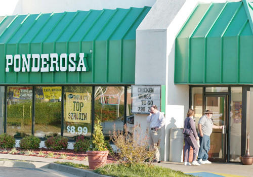 "Patrons arrive at the Ponderosa Steakhouse restaurant on October 22, 2002, where 37-year-old man was shot outside the steakhouse on October 19. Authorities have linked the shooting to the sniper slayings in the greater Washington area. 35-year old Conrad Johnson, a local bus driver, was shot and killed earlier in the day in an incident that has not been connected to the sniper shooting at this time. A serial sniper has communicated to police that children in the Washington, D.C. area are not safe from his relentless killing spree ""anywhere, at any time,"" police said on Tuesday.  REUTERS/Hyungwon Kang"