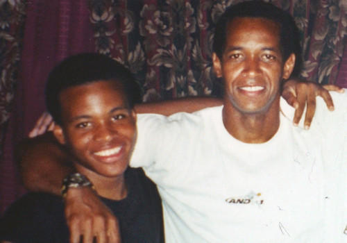 John Lee Malvo, 17, left, and John Allen Malvo, are seen in this recent family photo in Louisiana, provided by Muhammad's former sister-in-law Sheron Norman, Thursday Oct. 24, 2002, in Baton Rouge, La. Muhammad, a 41-year-old Army veteran and the teenager described as his stepson were arrested at a roadside rest stop Thursday for questioning in the three-week wave of deadly sniper attacks that have terrorized the Washington, D.C., area. (AP Photo/Courtesy of Sheron Norman)