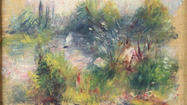 "A painting by Pierre-Auguste Renoir that was recently rediscovered appears to have been stolen from the <a href=""http://findlocal.baltimoresun.com/baltimore-city/art/art/baltimore-museum-of-art-baltimore-museum"">Baltimore Museum of Art</a> in 1951."