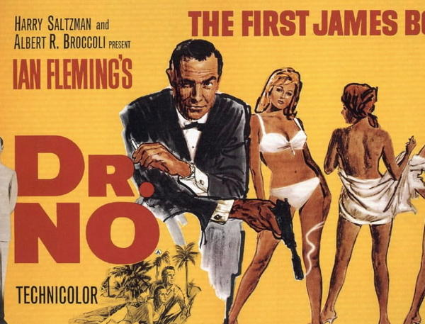"Poster from the film ""Dr. No."""