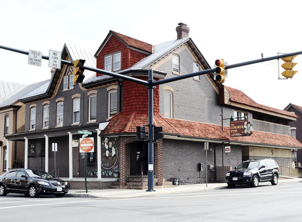 The Corner Pub, a downtown gathering place for more than a quarter of a century is scheduled for a foreclosure auction in October. However, co-owner Darryl Sword said an infusion of private funding could forestall a sale.