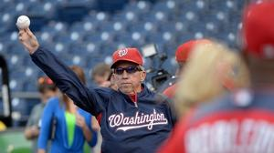 Manager's return to Washington Nationals in 2013?