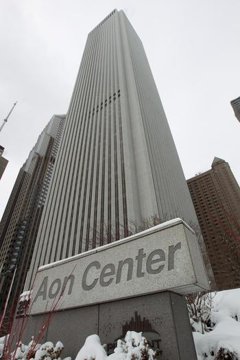 The Aon building