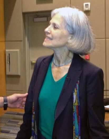 Green Party presidential candidate Dr. Jill Stein.