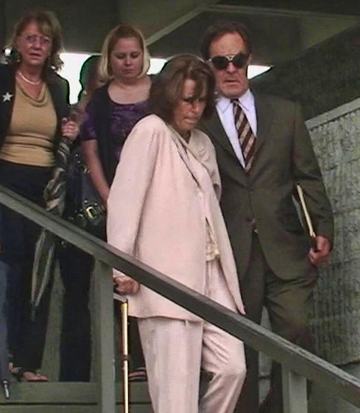 This June 2011 photograph shows former Broward County Commissioner Diana Wasserman-Rubin and her husband Richard Rubin leaving the federal courthouse in Fort Lauderdale after Rubin was sentenced for income tax evasion. Carline Jean, Sun Sentinel