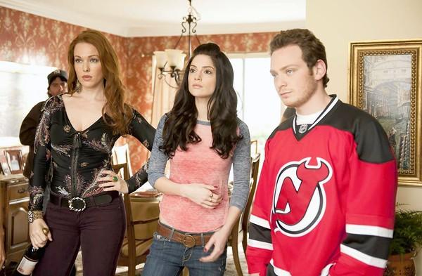 """Made in Jersey"" on CBS features Erin Cummings, left, Janet Montgomery and Joe Siravo."