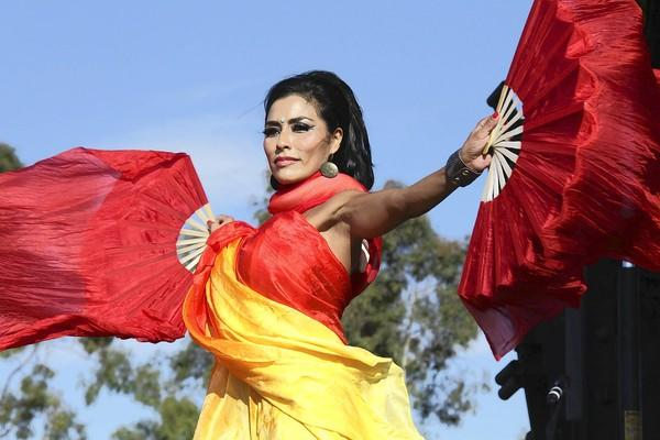 The Jewels that Raq perform at a previous Irvine Global Village Festival.