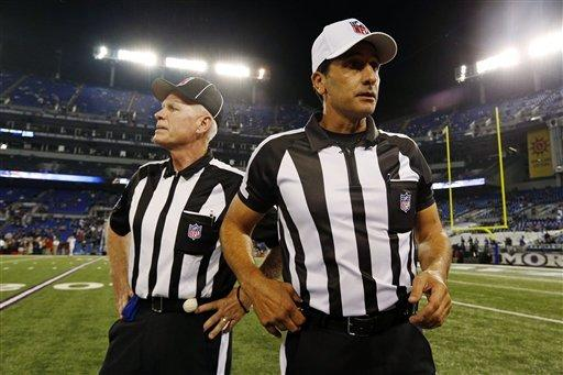 Referees return