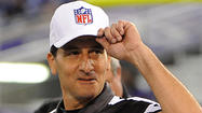 Instead of receiving the usual jeers that go with their profession, NFL referee Gene Steratore and his crew were treated like conquering heroes Thursday night at M&T Bank Stadium.