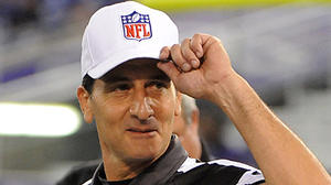 NFL officials receive loud cheers in first night back