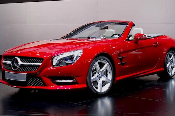 Another drop-top unveiled in Detroit was the 2013 Mercedes-Benz SL550. While perhaps not as iconic as Porsche's 911, the SL has been a Mercedes mainstay for 60 years. This latest hardtop convertible has a new 4.6-liter, direct-injected, twin-turbocharged V-8 engine that makes 429 horsepower and an immense 516 pound-feet of torque. That power is routed to the rear wheels via a seven-speed automatic transmission. The car sheds some 275 pounds from the previous SL, which certainly aids in its 4.5-second 0-60 acceleration time. Stay tuned for a full review in the near future and look for the new SL to hit dealerships this spring.