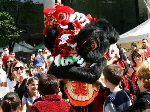 The Immortals Chinese Lion Dance at a previous Glendale Unity Fest.