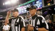 Real referees return for Ravens game