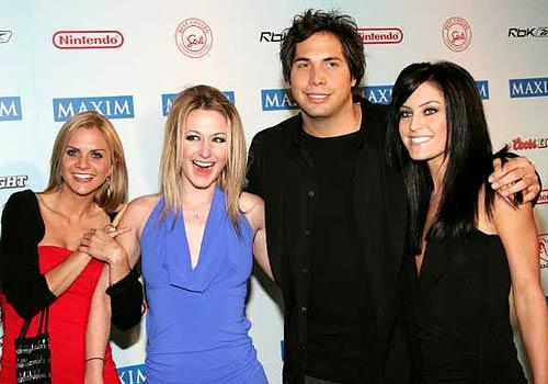 Francis and guests attend Maxim magazine's 2005 Super Bowl party in Jacksonville, Fla.