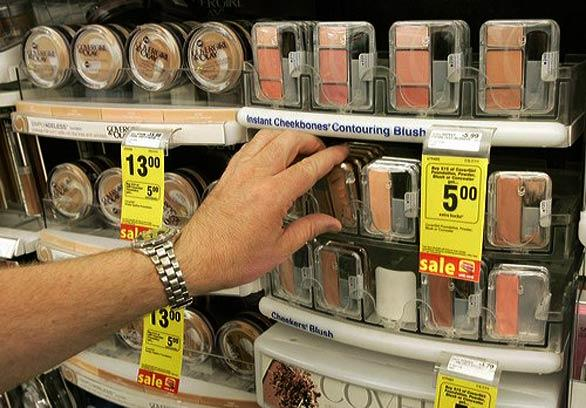 To make sense of it all, makeup artist Craig Beaglehole and I recently set up a drugstore product challenge at a West Hollywood CVS store, piling dozens