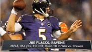 VIDEO Flacco leads Ravens over Browns