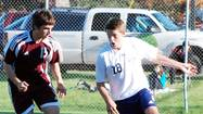 TRAVERSE CITY -- Senior Matt Dankert scored both goals -- his first two of the season -- Thursday as the Petoskey High School boys soccer team posted an important 2-0 Big North Conference victory over Traverse City Central.