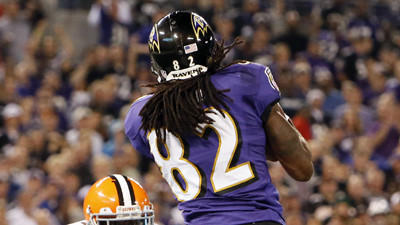 Torrey Smith on pace for 64 catches, 1,328 yards, 12 touchdowns