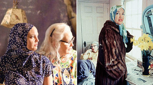 """Grey Gardens"" Jessica Lange Drew Barrymore Big Edie Little Edie"