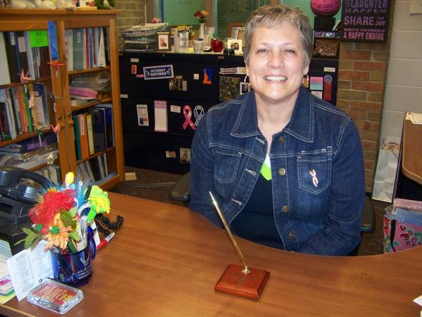 Karen Starkey, guidance counselor at Petoskey High School, is a recipient of this year's Yale Educator of the Year Award.