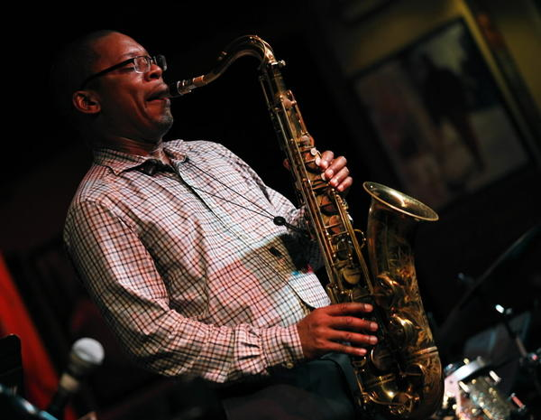 axophonist Ravi Coltrane performs with his quartet at the Jazz Showcase in Chicago on Thursday