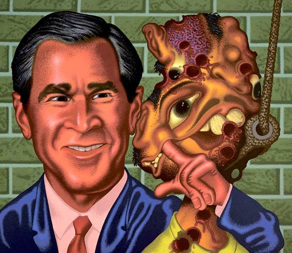 Pop artist Peter Saul breaks all the rules - Bush