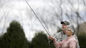 Talking Or Fishing, Breast Cancer Support Takes Many Forms