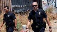 "Michael Pena and Jake Gyllenhaal in Open Road Films' ""End of Watch"""