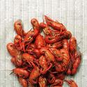 Nawlins staple: crawfish