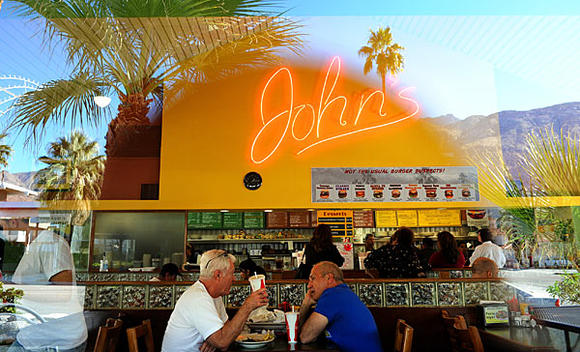 Places to eat in Palm Springs