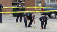Five people were shot this morning in four separate attacks across the city, authorities said.