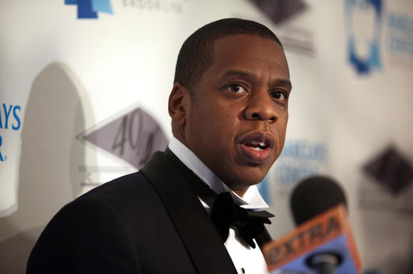 Jay-Z attends the grand opening of the 40/40 Club at Barclays Center