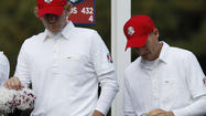 Rory McIlroy and Graeme McDowell were putting a big-league beatdown on Jim Furyk and Brandt Snedekerin Morning Foursomes. The Euros were 3-up after 12 holes, in total command.