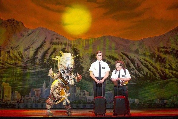 """The Book of Mormon"" at the Pantages comes under a glaring spotlight."
