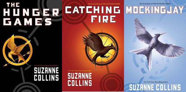 "Suzanne Collins' ""Hunger Games"" books first appeared on the most-challenged list in 2010."