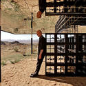 "Robert Stone's one-bedroom dwelling ""Rosa Muerta"" on the outskirts of Joshua Tree"