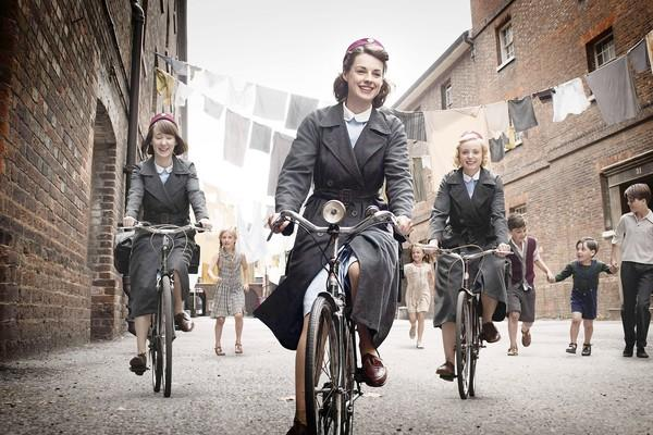 "The lives of midwives in London in the 1950s is examined in ""Call the Midwife."""