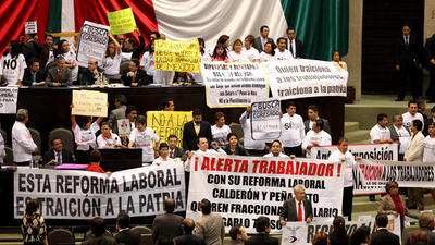 Aprueban reforma laboral en lo general