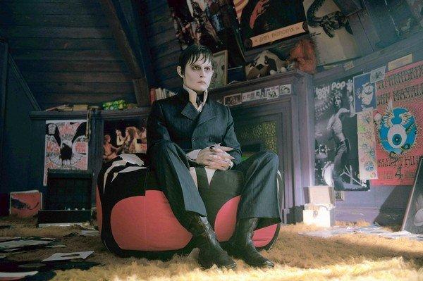 """Johnny Depp as Barnabas Collins in """"Dark Shadows."""""""