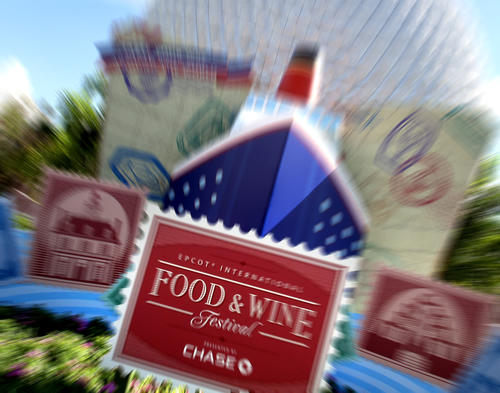 Scenes from the soft-opening of the 2012 Epcot International Food & Wine Festival, Thursday, September 27,  2012.