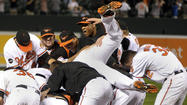 A year ago Friday, Robert Andino etched his name into Orioles lore with a ninth-inning sinking liner to left that escaped the glove of Boston's Carl Crawford, plated Nolan Reimold with the game-winner, extinguished the Red Sox's playoff hopes and helped send that franchise into an unforeseen spiral.