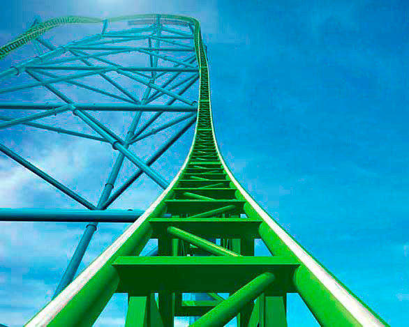 Kingda Ka, a record-setter at Six Flags Great Adventure in Jackson, N.J., peaks at 456 feet.<br> ASTM International, a private standards-setting organization based in Pennsylvania, has published standards that spell out the maximum thrust, acceleration and drops for theme park rides. But the standards are not mandatory in every state. And even if they abide by the limits, ride designers say they can still come up with attractions that push the boundaries in new ways.