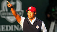 Tiger Woods' Friday ended as it began, with him hunched over in disbelief at the shot that had betrayed him.