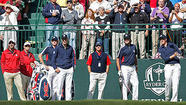 MEDINAH, Ill. — Maybe it had something to do with Bubba Watson encouraging fans to hoot and holler as loudly as possible while he piped his first drive.