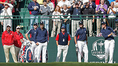 Afternoon birdie barrage carries U.S. to 5-3 Ryder Cup lead
