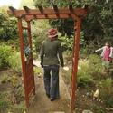 Amy Brenneman's children's garden: Walkway in