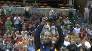 "<span style=""font-size: x-small;""><span style=""font-size: 10pt;"">For the fifth time in her career, Indiana Fever forward Tamika Catchings has been named the WNBA Defensive Player of the Year presented by Boost Mobile, the league announced today.  Catchings previously won the award in 2005, 2006, 2009 and 2010. </span></span>"
