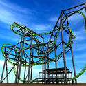 Vekoma Stingray flying coaster